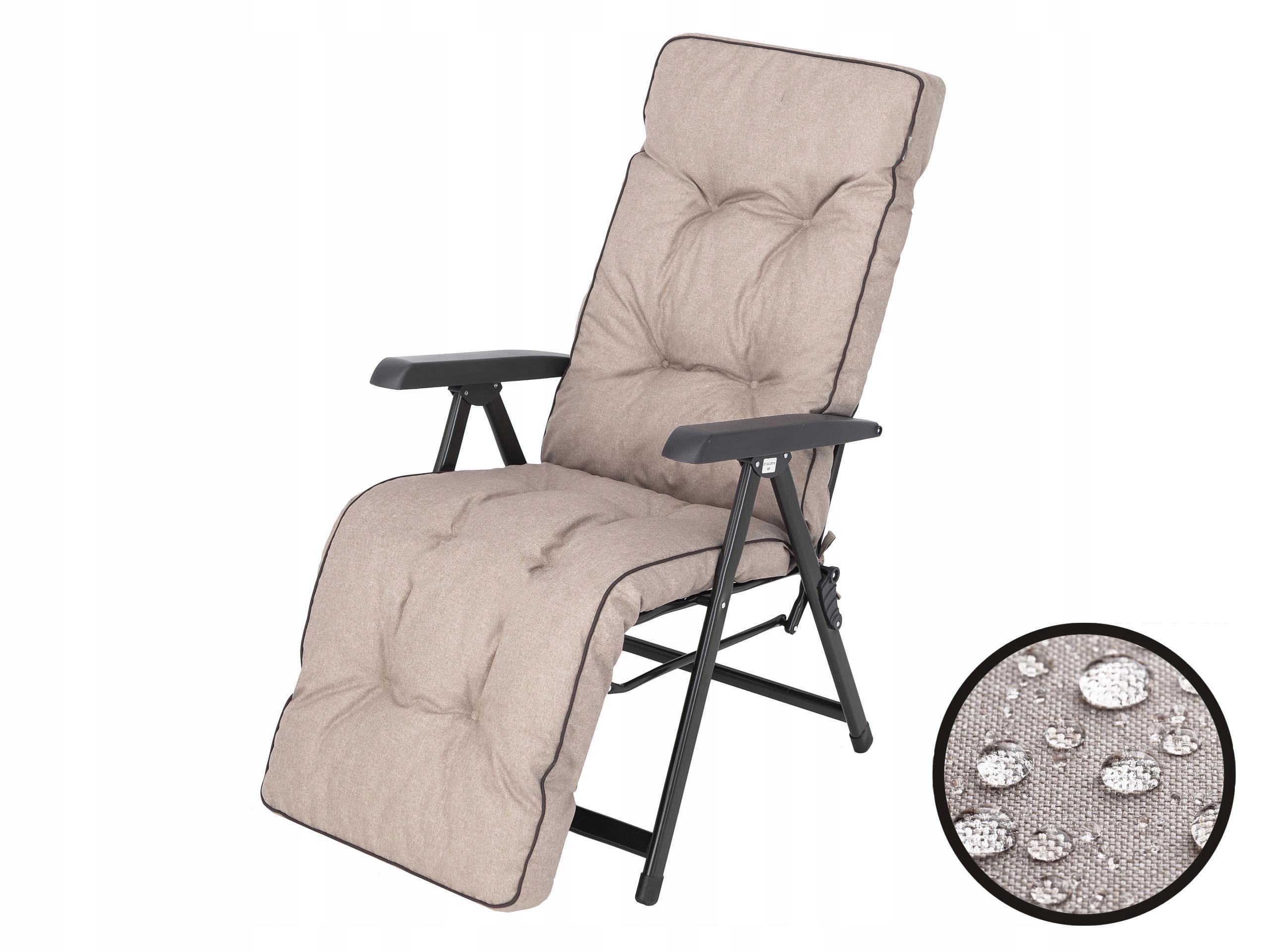 Шезлонг Cushion Пляжный садовый стул 50x160