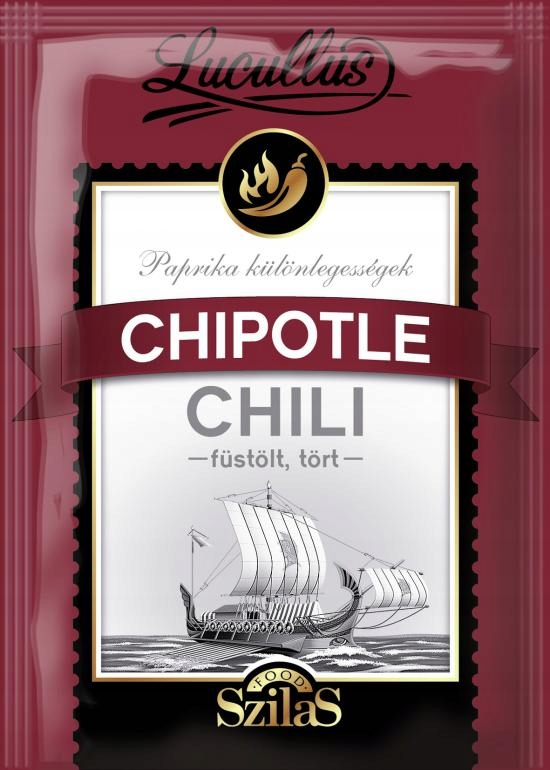 Papryka wędzona CHIPOTLE-RED JALAPENO OSTRA- 10g