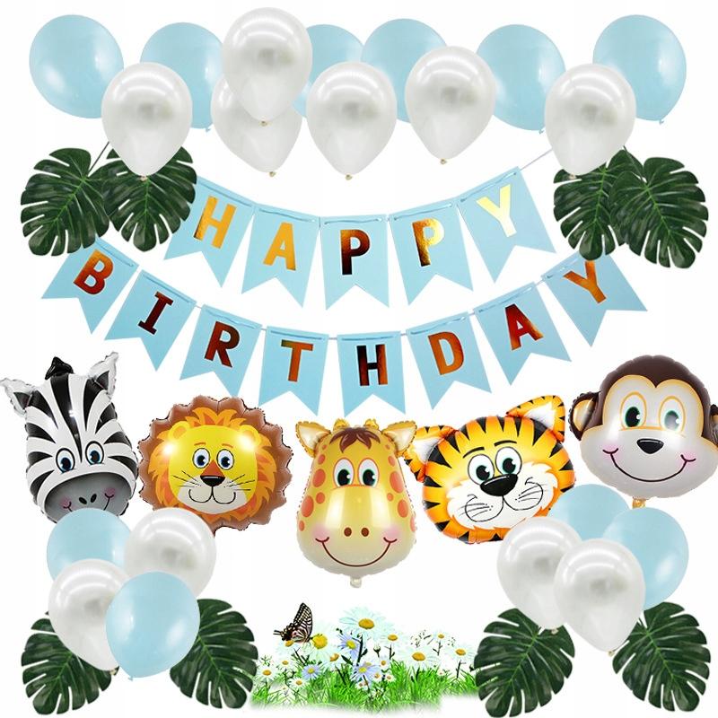 Купить Набор воздушных шаров на день рождения лесных животных для детей на Otpravka - цены и фото - доставка из Польши и стран Европы в Украину.