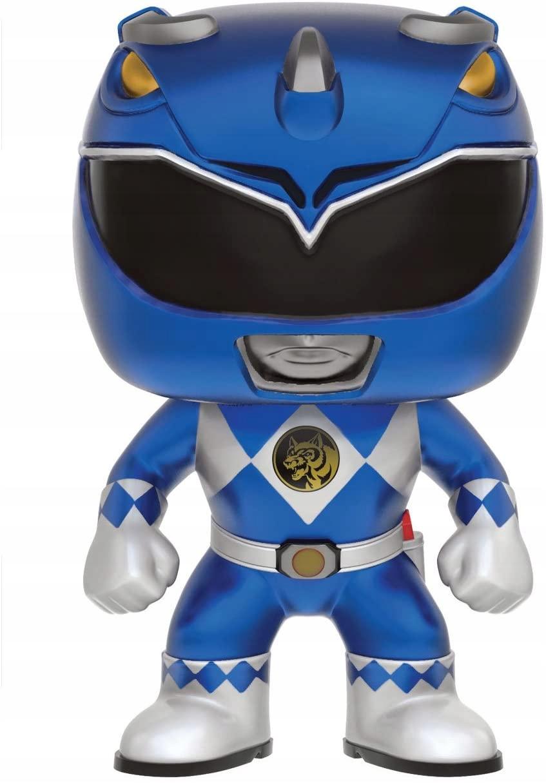 Funko POP Power Rangers modrá metalíza