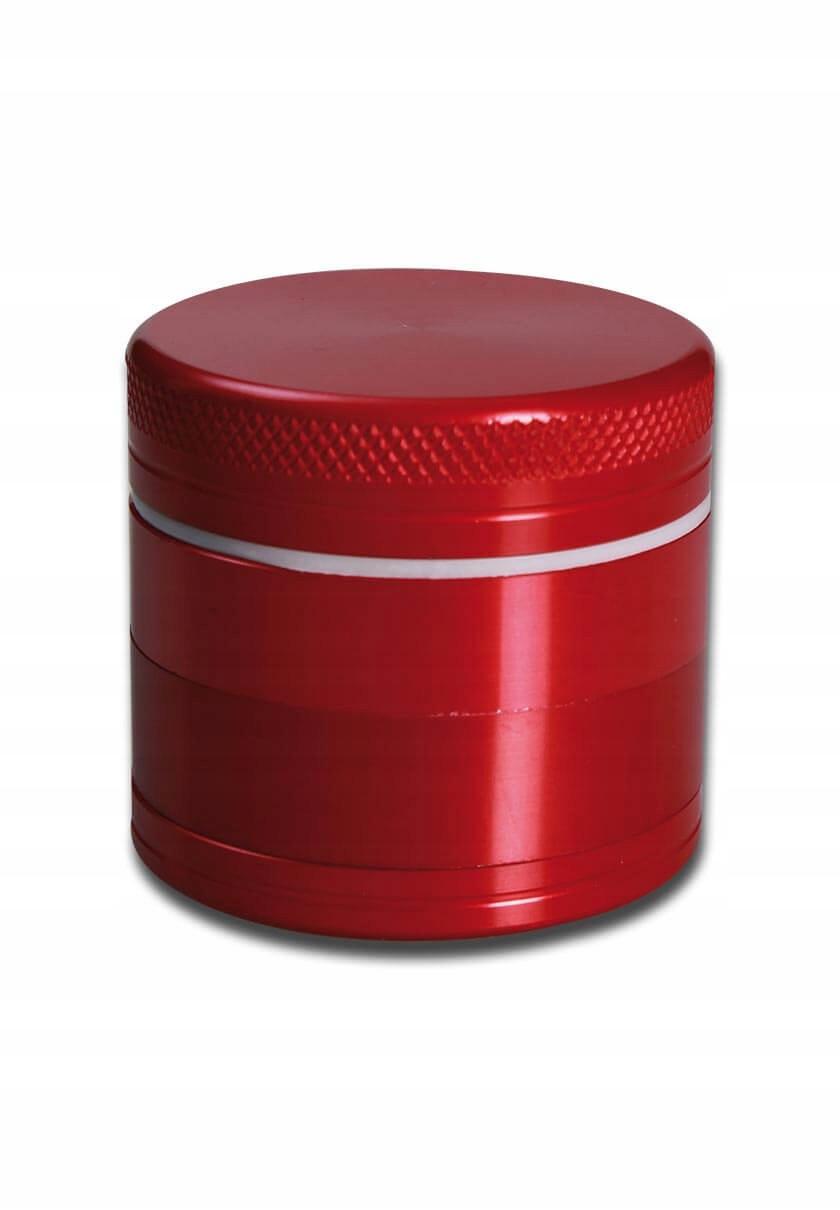 MINI RED Młynek kraszer aluminiowy 40 mm