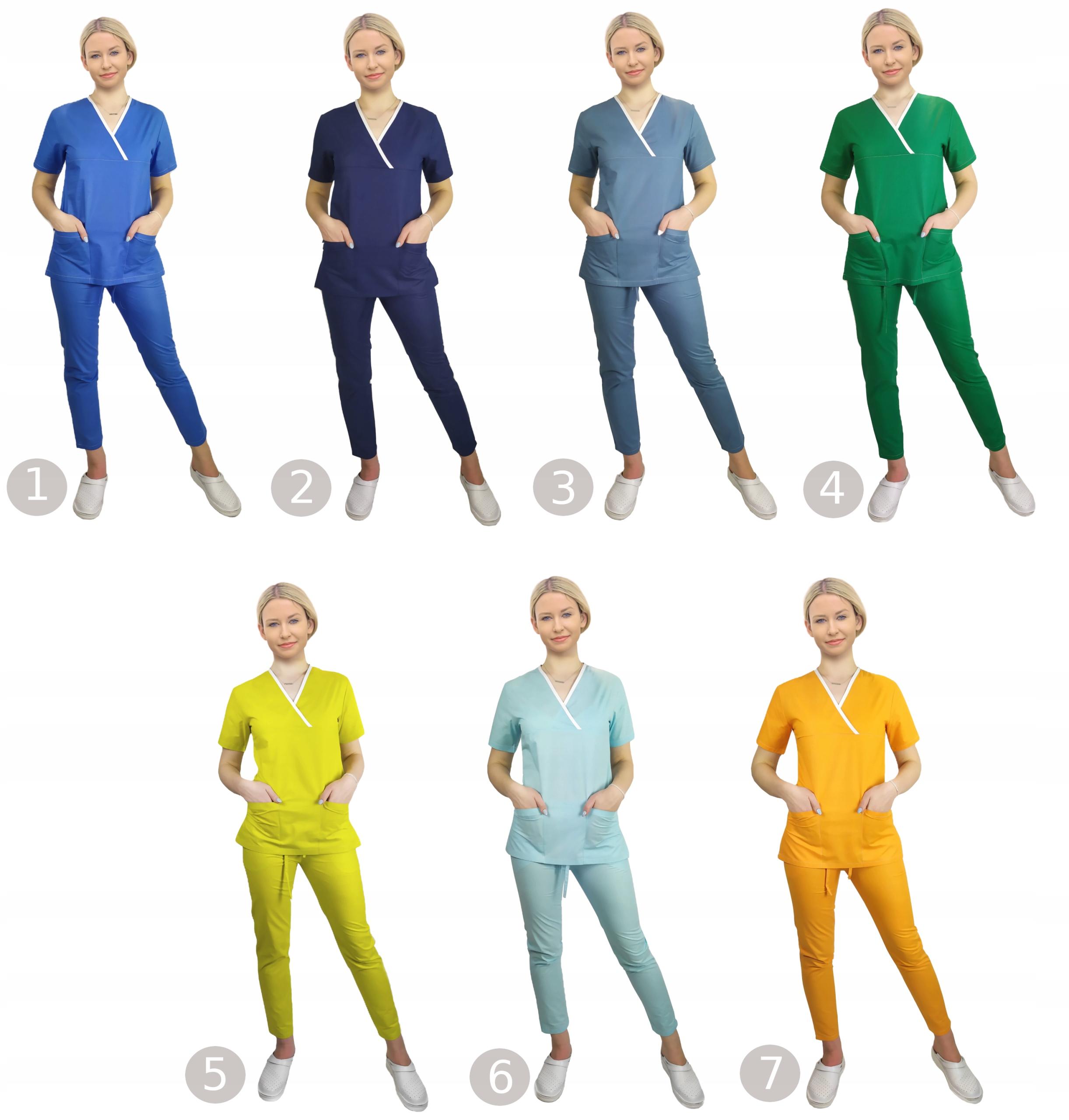 Spodnie medyczne SOFT WZORNIK