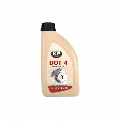 K2 DOT 4 тормозная жидкость 1 л DOT 4 Тормозная жидкость T108
