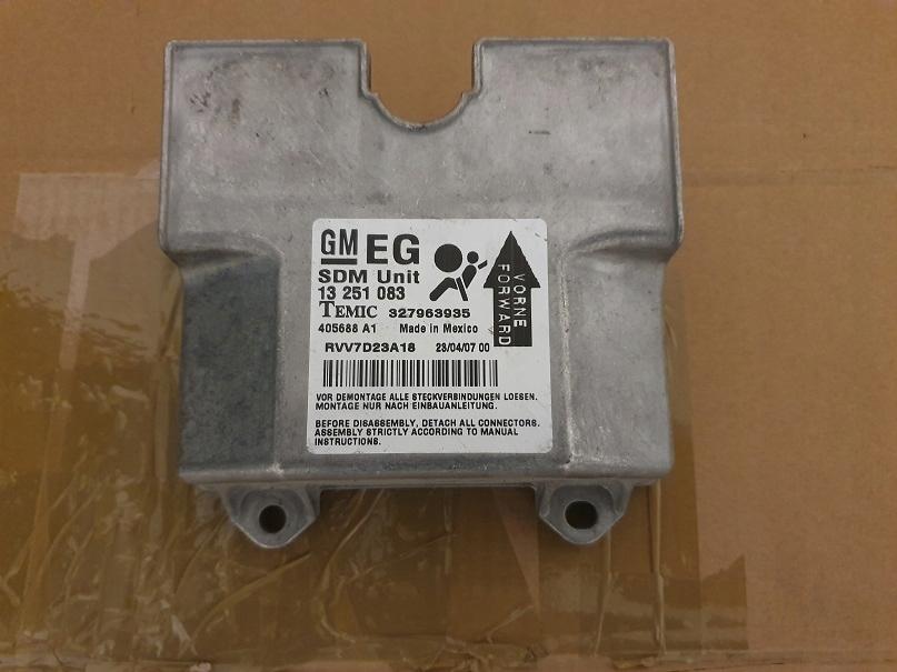 драйвер подушек сенсор модуль eg airbag astra h