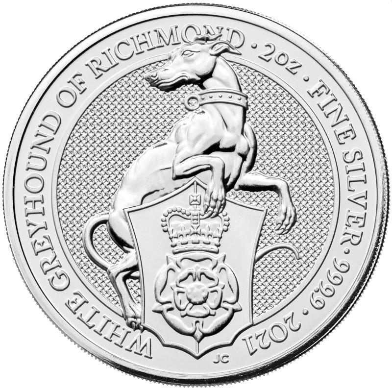 Queen's Beasts - Biely chrt z Richmondu 2021