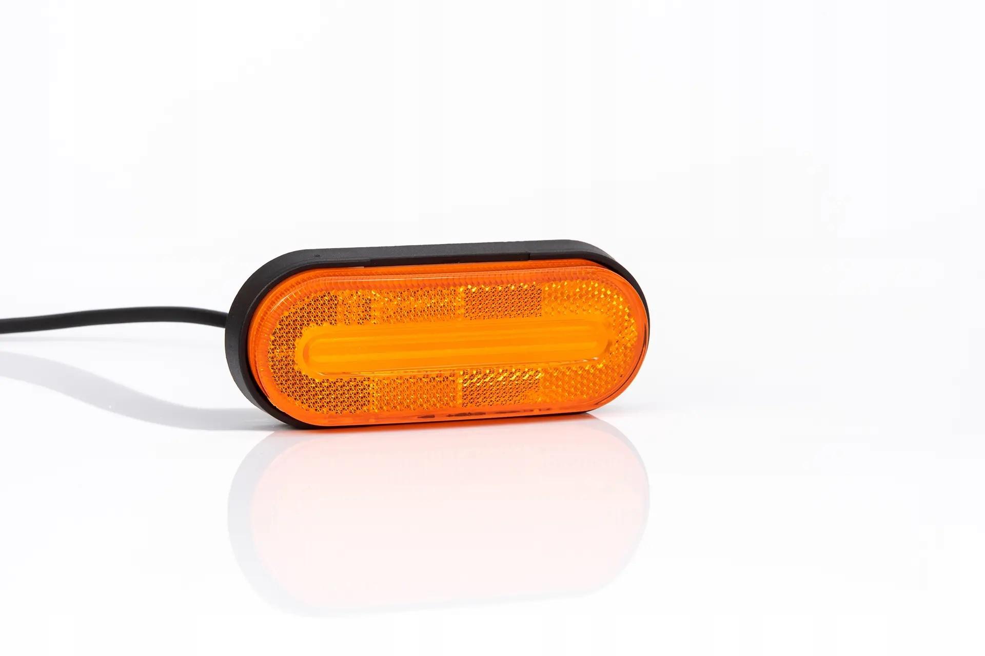 лампа контрольная габаритный диодов led 1224v оранжевый