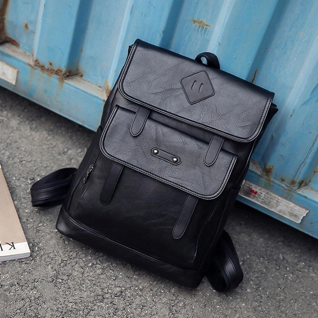 Pánska retro taška cez rameno Jednoduchý batoh