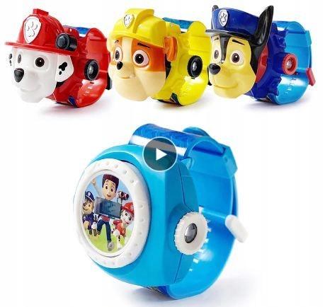zegarek otwierany psi patrol dla dziecka 4 wzory