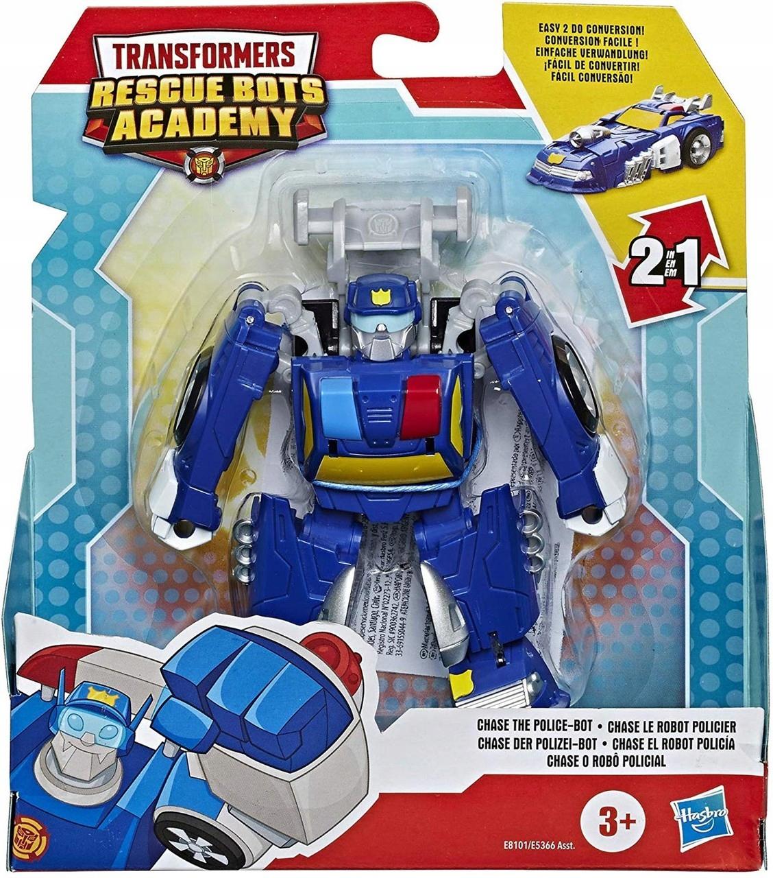 Postava Záchranných robotov Transformers Chase PoliceBot