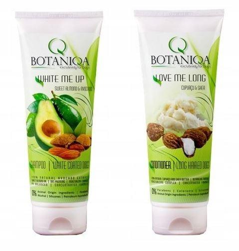BOTANIQA szampon odżywka dla psów białych jasnych
