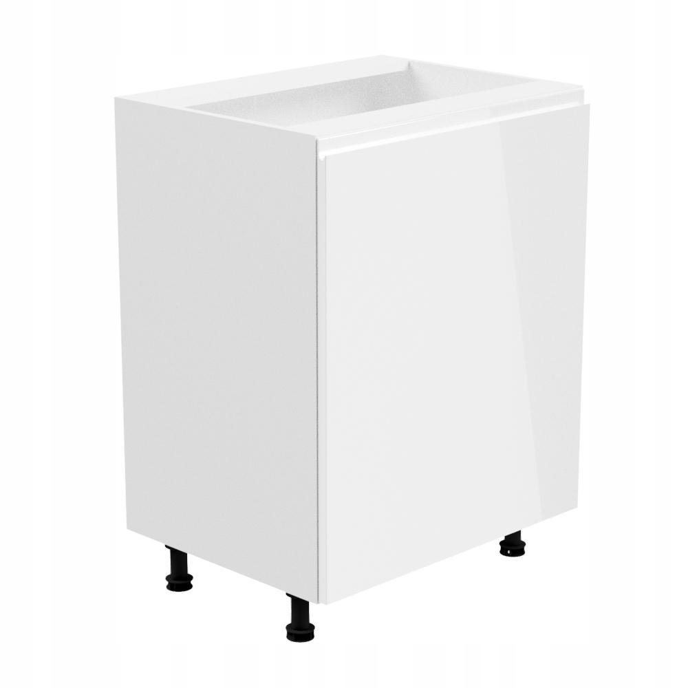 ASPEN D60-S Šatník jednodrzwiowa nižšie 60 biela
