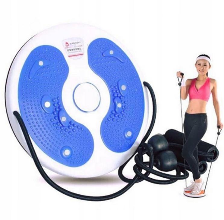Fitness Disc-Twister Rotary pre cviky so strunami