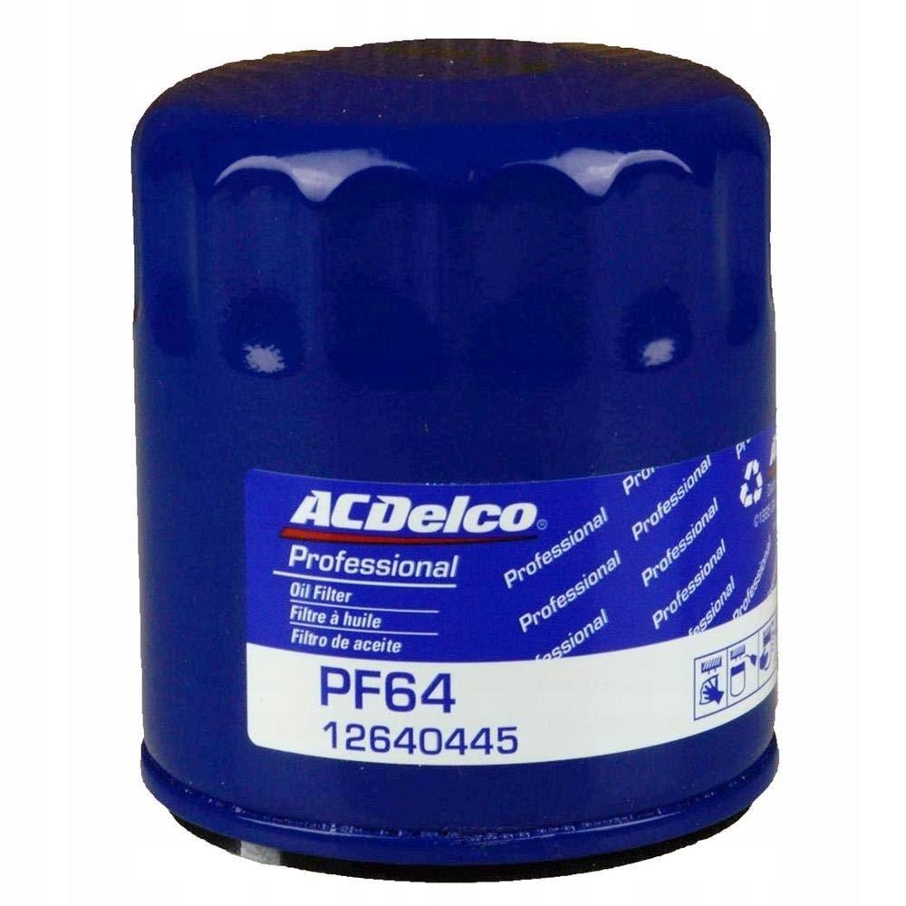 фильтр масла acdelco pf64 camaro корвет gmc