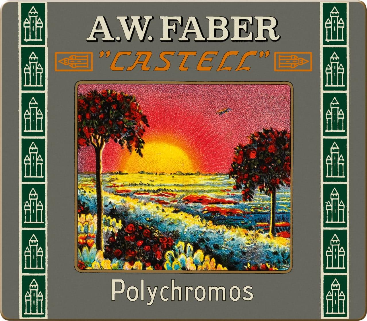 POLYCHROMOS RETRO FABER CASTELL 24 FARIEB