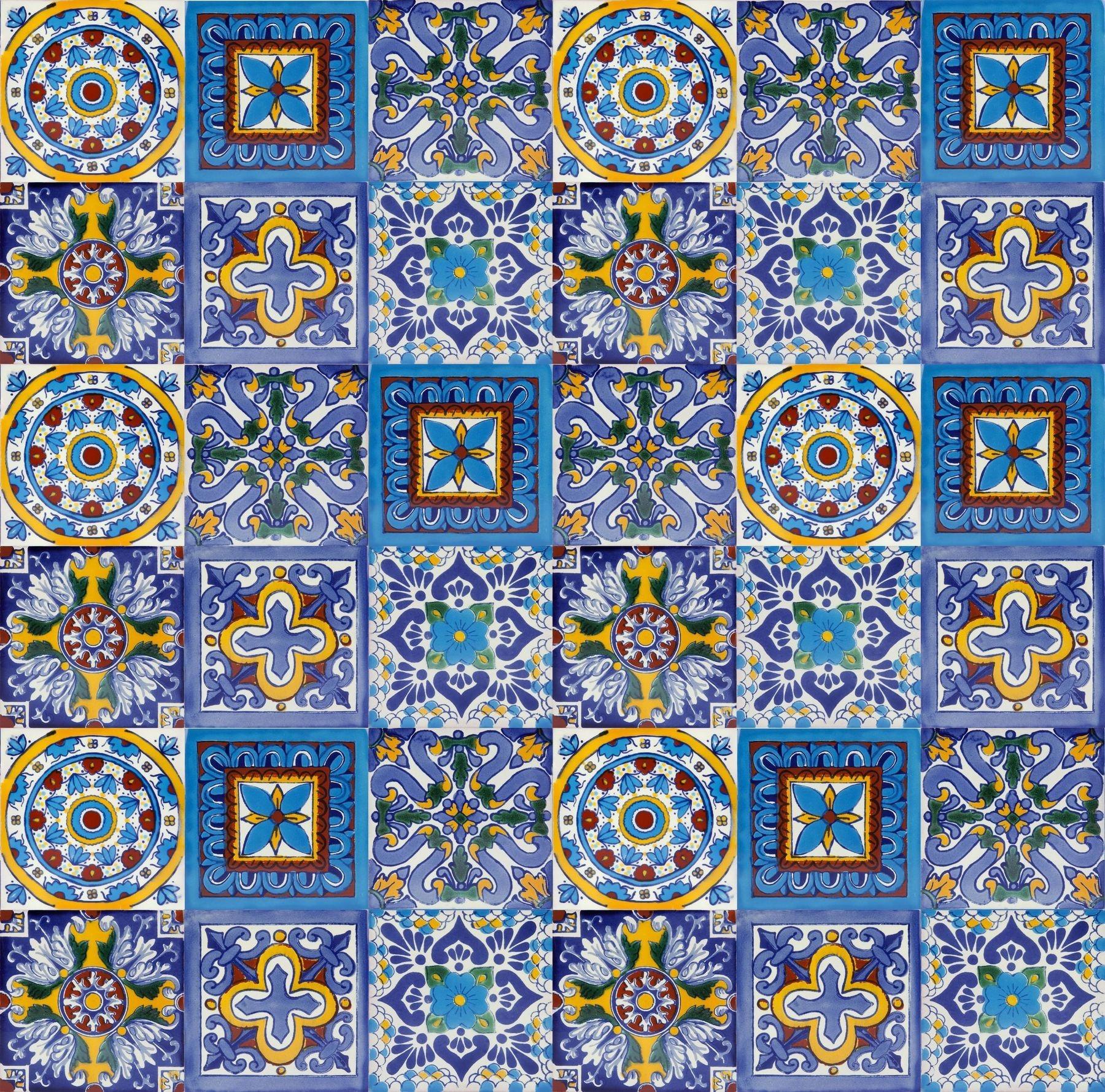 Płytki ścienne patchwork Meksyk 30 szt - Armando