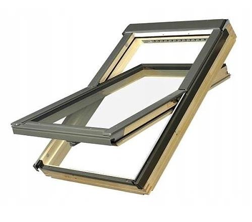 FAKRO FTP-V U4 Мансардное окно с 3 стеклами 78x118