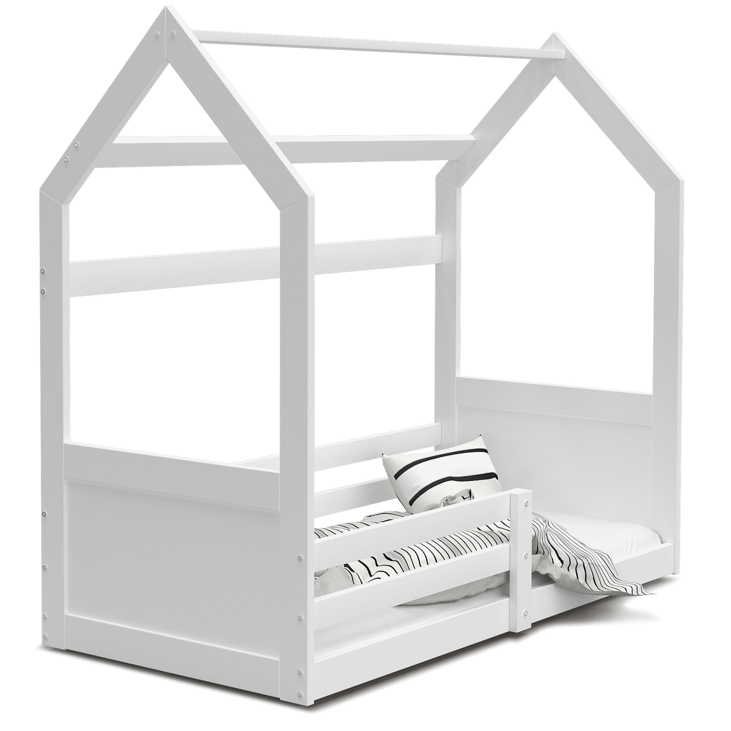 Łóżko dziecięce 160x80 materac domek MIKI