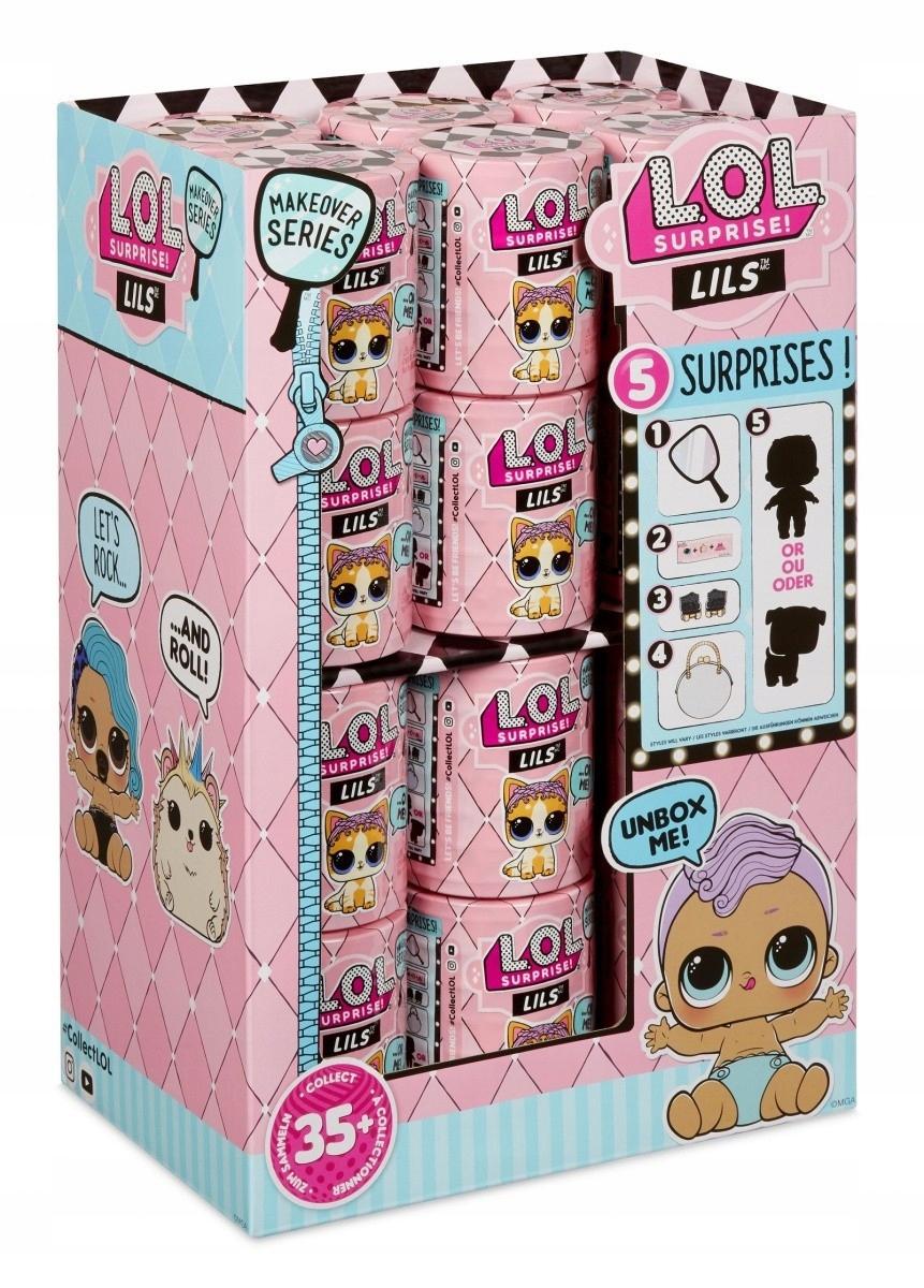 Čísla L.O.L. Prekvapenie, malé sestry, zobrazujú 2x24