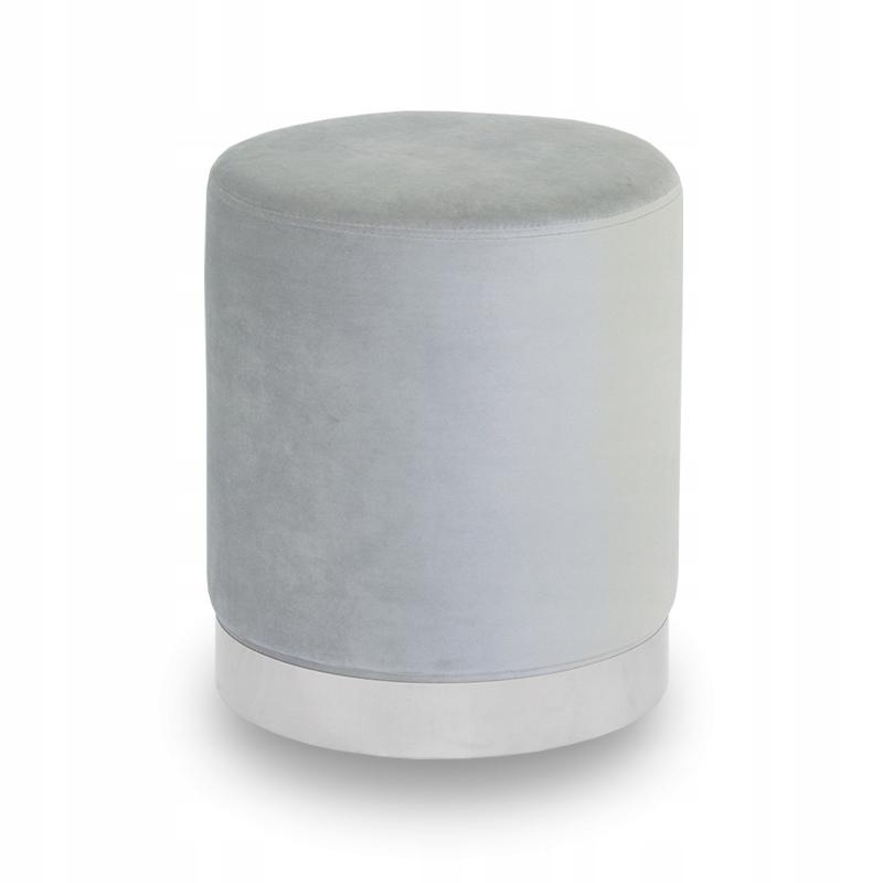 Пуф Glamour WELUR обитый UC3014 серый