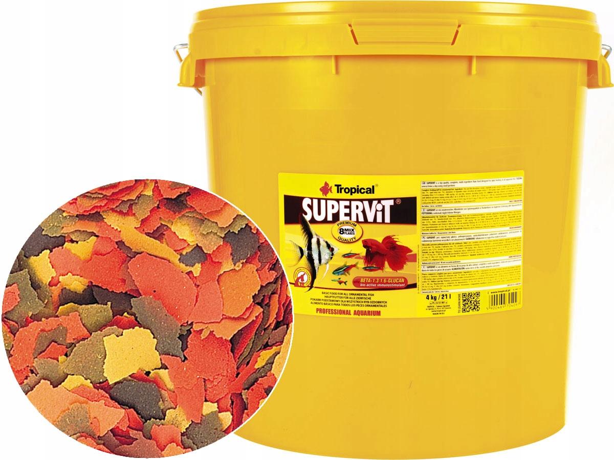 TROPICKÉ Supervit 4 kg/21L Potravín