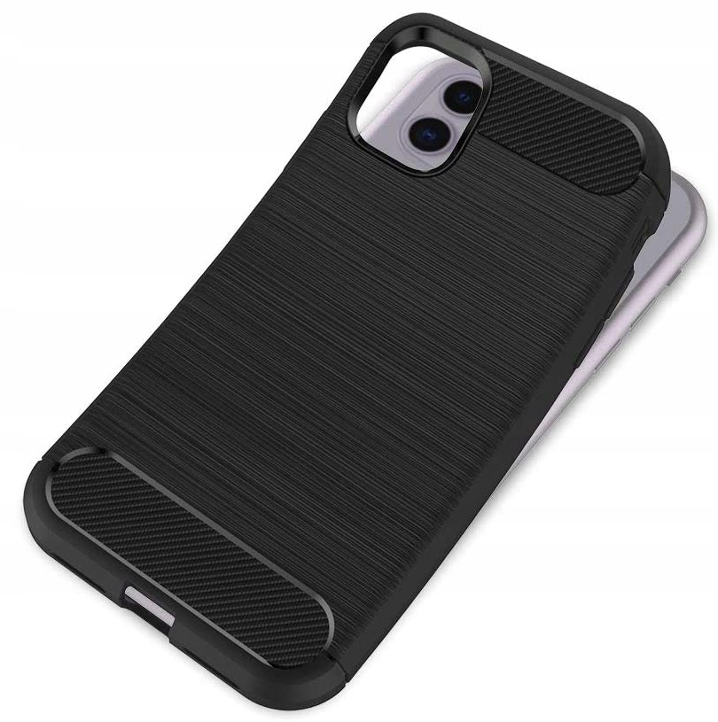 ETUI do iPhone 11 KARBON PANCERNE CASE + SZKŁO 9H Kod producenta D7