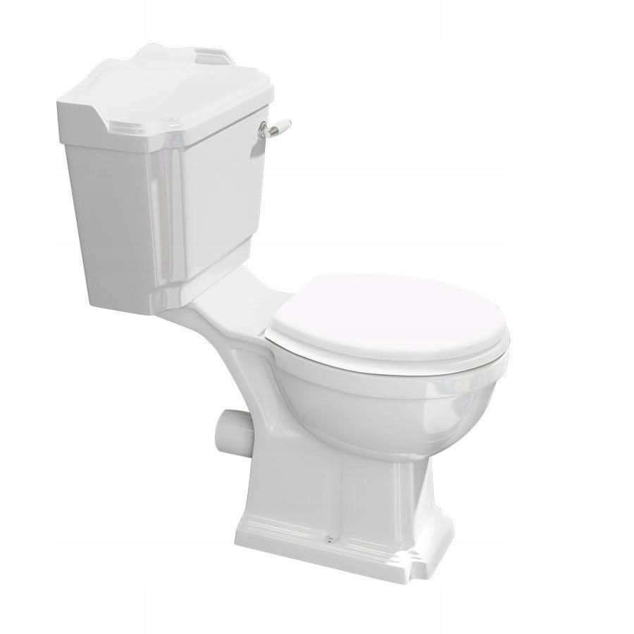 Retro kompaktné WC ANTIK + sedadlo duroplastu Soft-Close