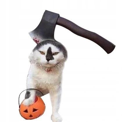 Повязка на голову для кошки собаки PUPILA HALLOWEEN M