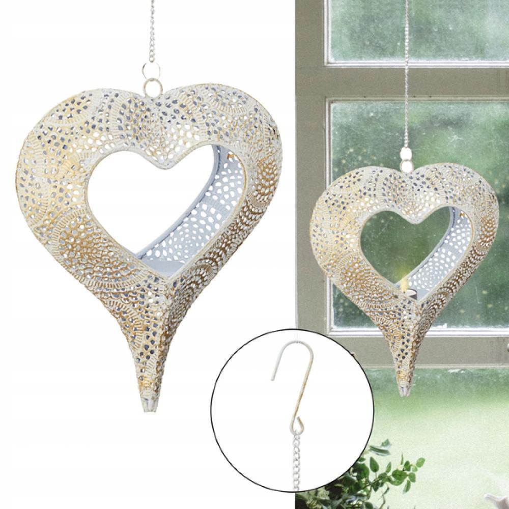 Подвесной фонарь золотое сердце ПРОДАЖА