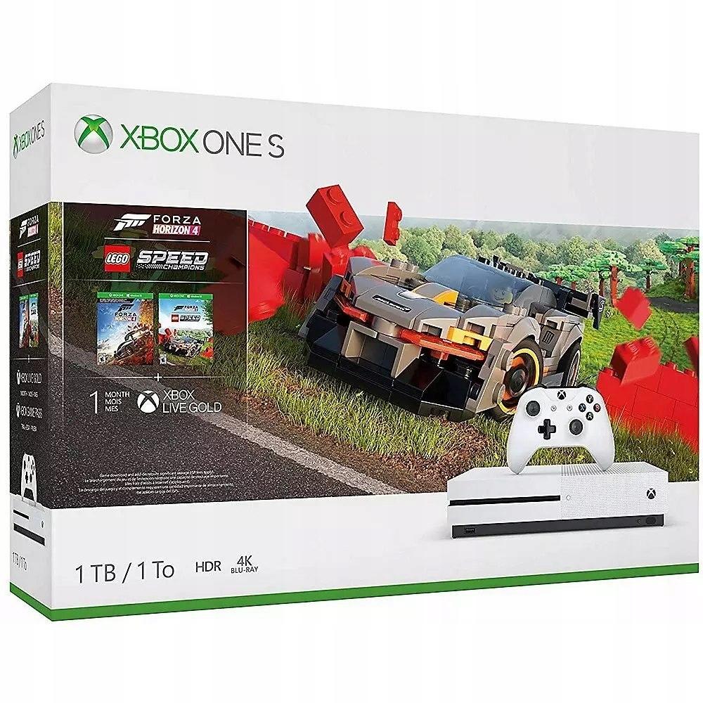 Konzoly Microsoft Xbox One S 1TB Forza Horizon 4 L