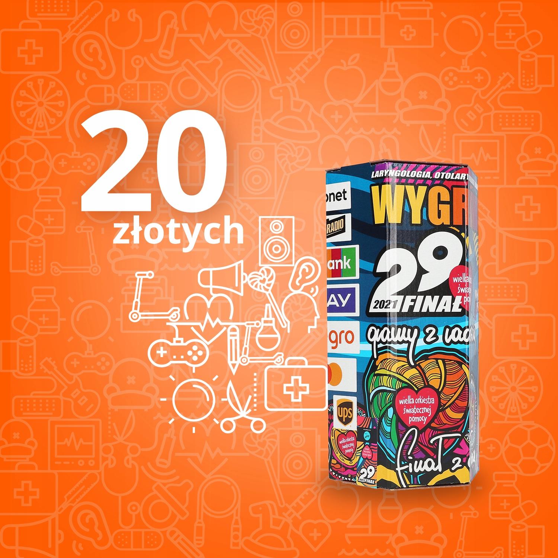 Wirtualna Puszka Wosp 20 Zl Aukcje Wosp Allegro Pl