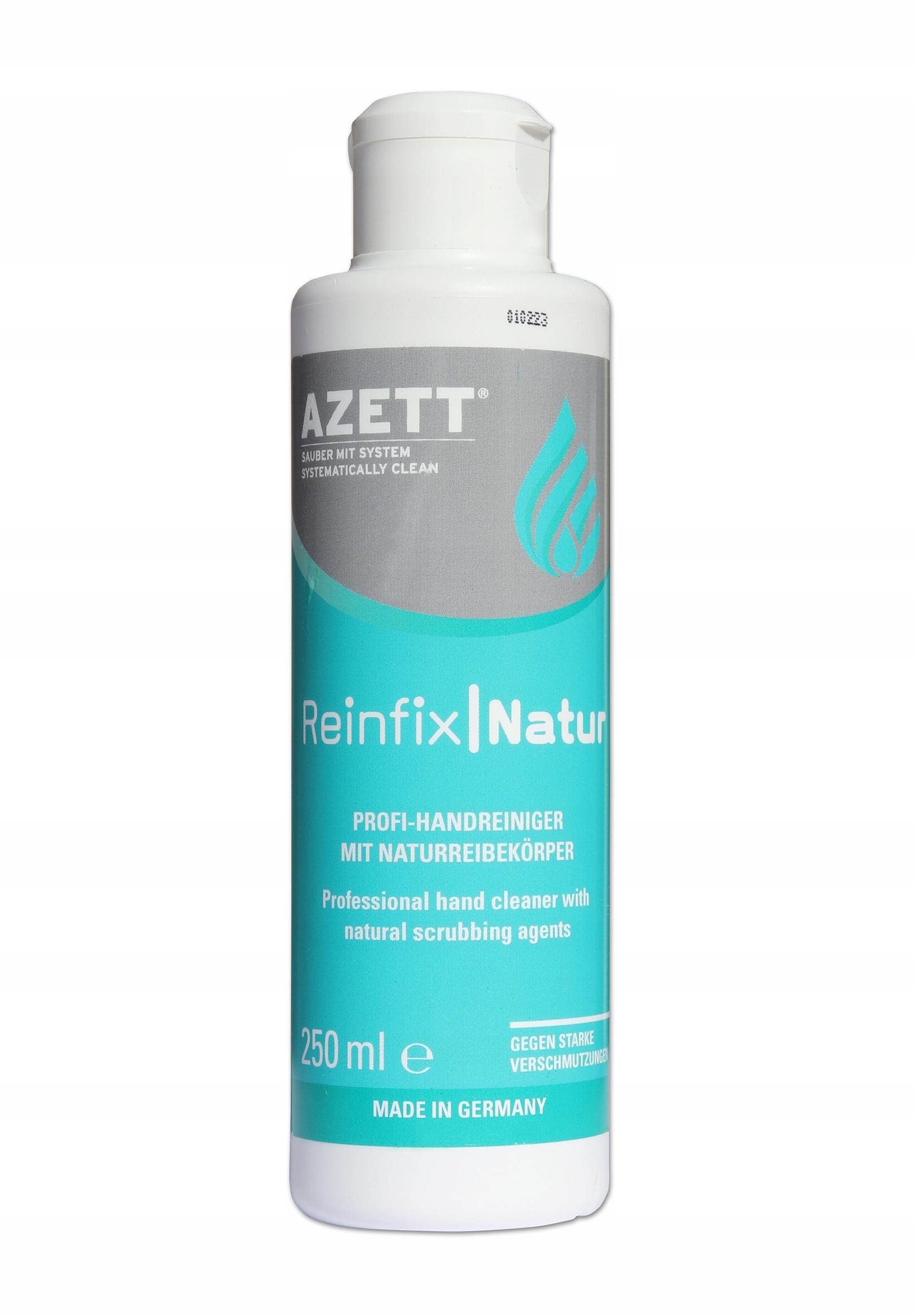 Pasta BHP krem do mycia rąk AZETT ReinfixNatur 250