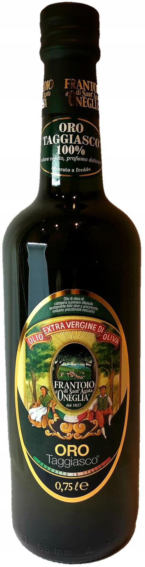 "Olivový olej ""Extra Virgin"" ORO Taggiasco 0.75 l"