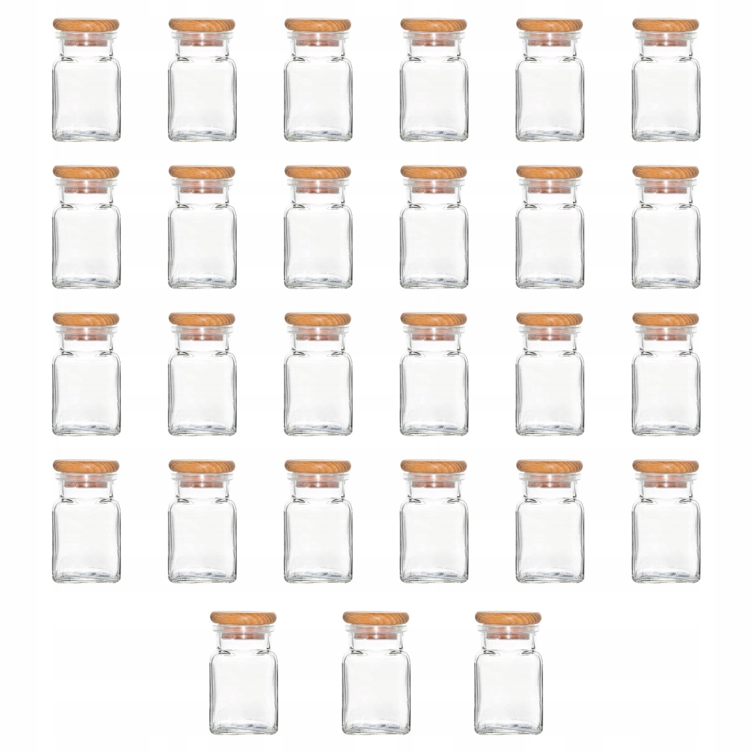 27 шт. Jar jar контейнер для специй 150 мл D.