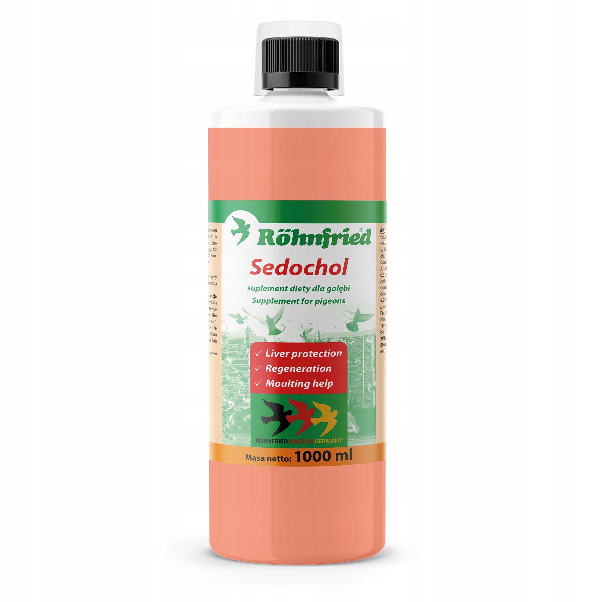 ROHNFRIED Sedochol 1l - ochrona wątroba pierzenie