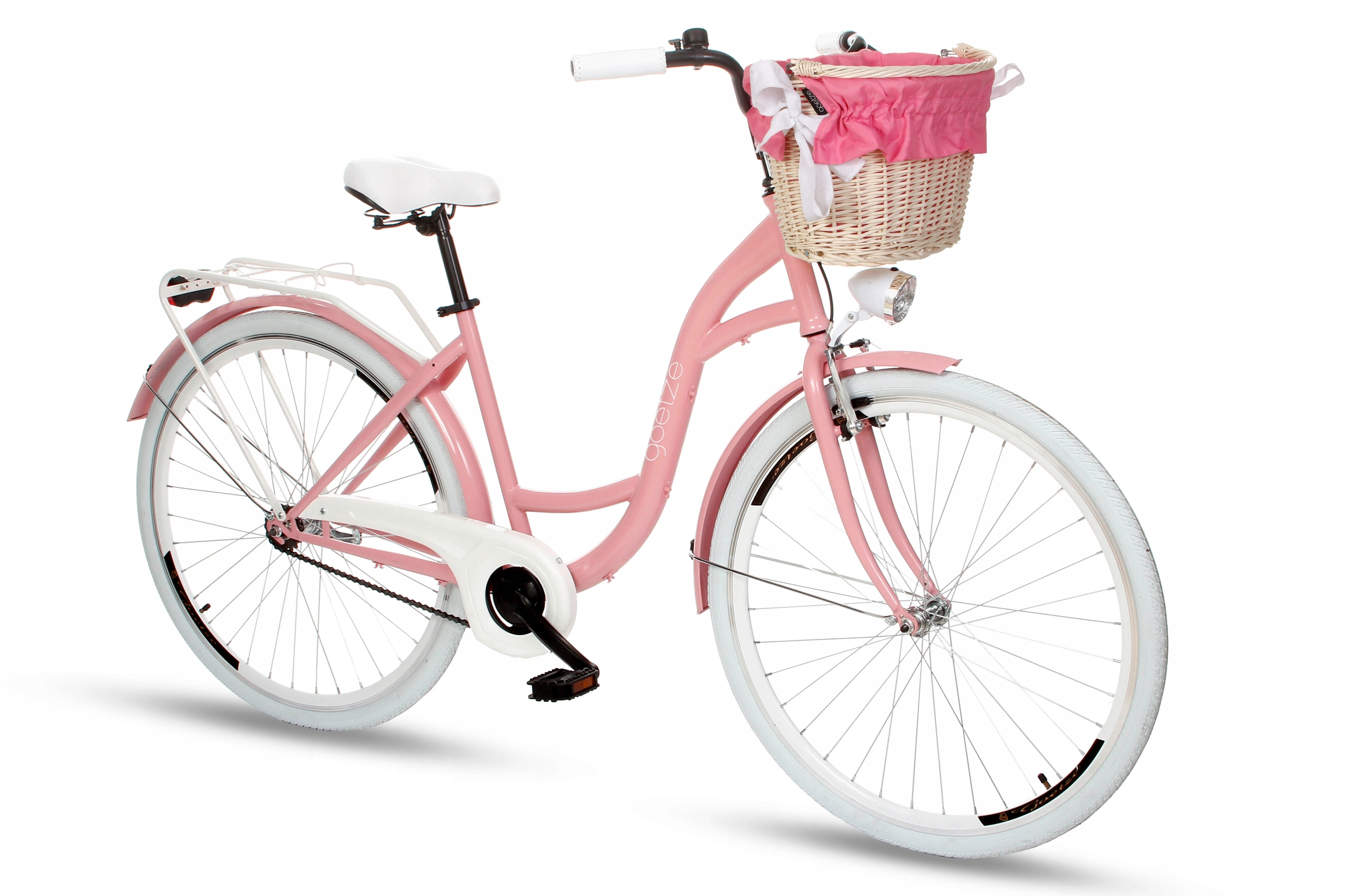 """Dámsky mestský bicykel Goetze Style 28 košík !!!  # 4 Veľkosť kolies ("""") 28"""