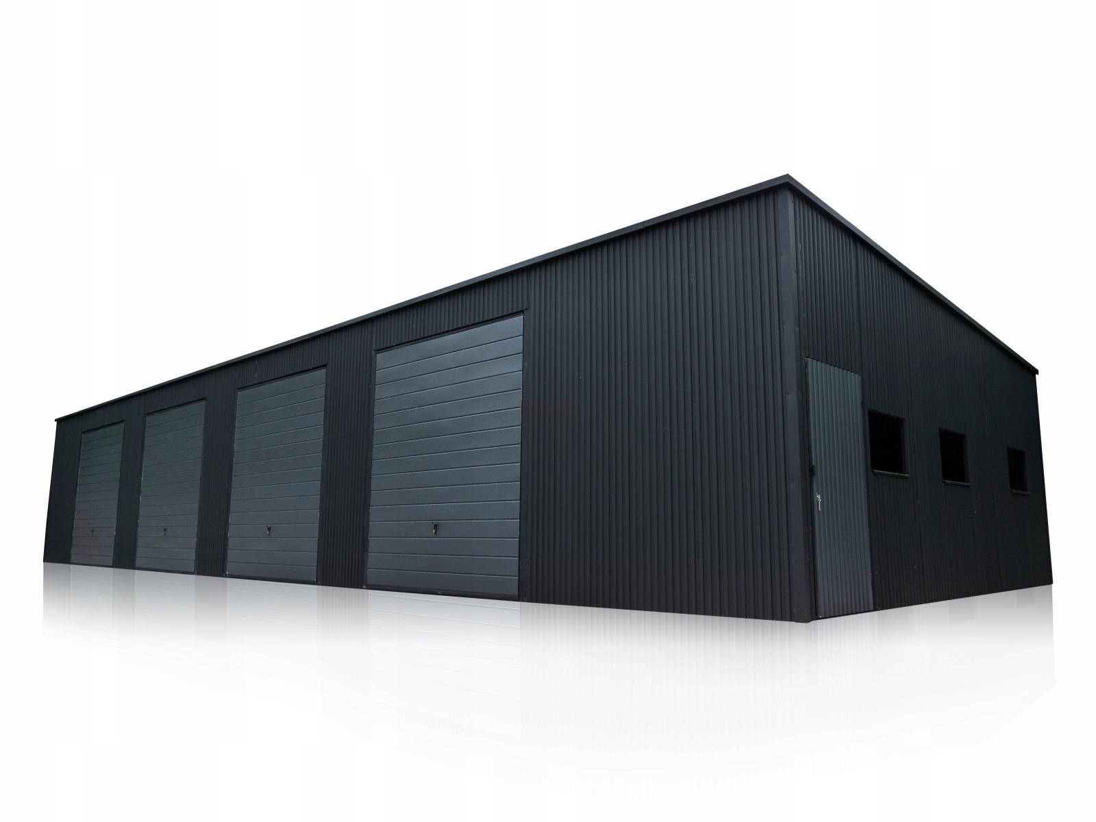 Garaż blaszany HALA 20x7 garaże blaszane hale 20x7