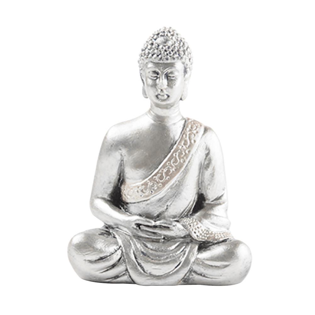 Kreatívna čínska sochárstvo sochy Budhu v retro štýle
