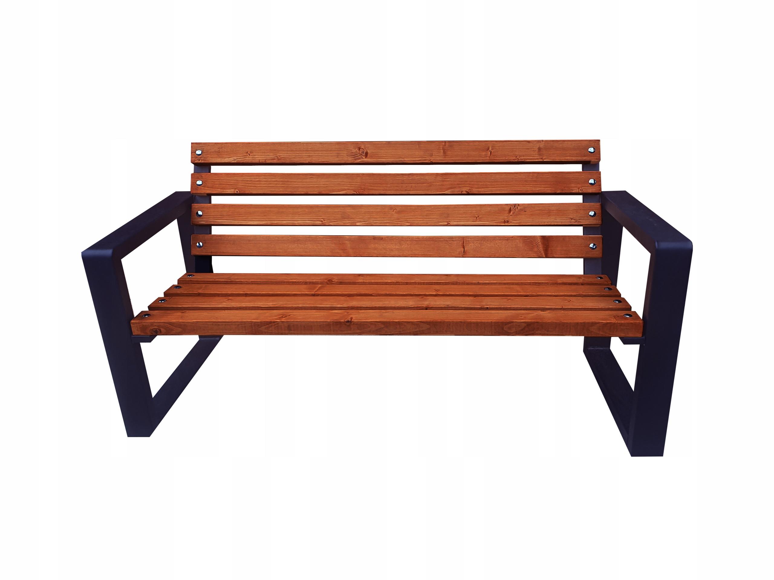 Mestská lavica 180 cm Hmotnosť produktu s jednotkovým balením 25 kg
