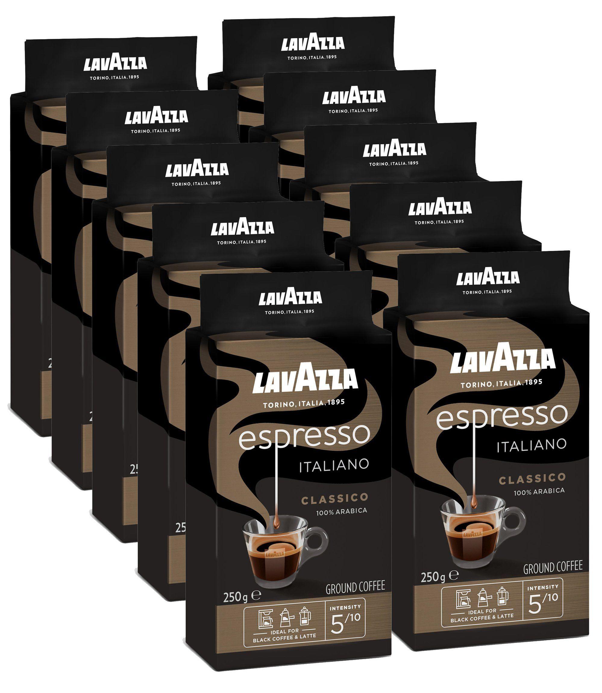 Mletá káva Lavazza Espresso 10x250g