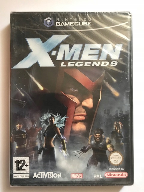 X-Men Legends Nintendo Gamecube NOVINKA