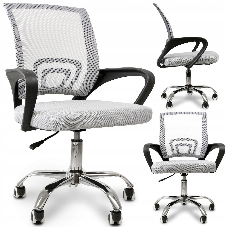 Эргономичное вращающееся офисное кресло с микро-сеткой
