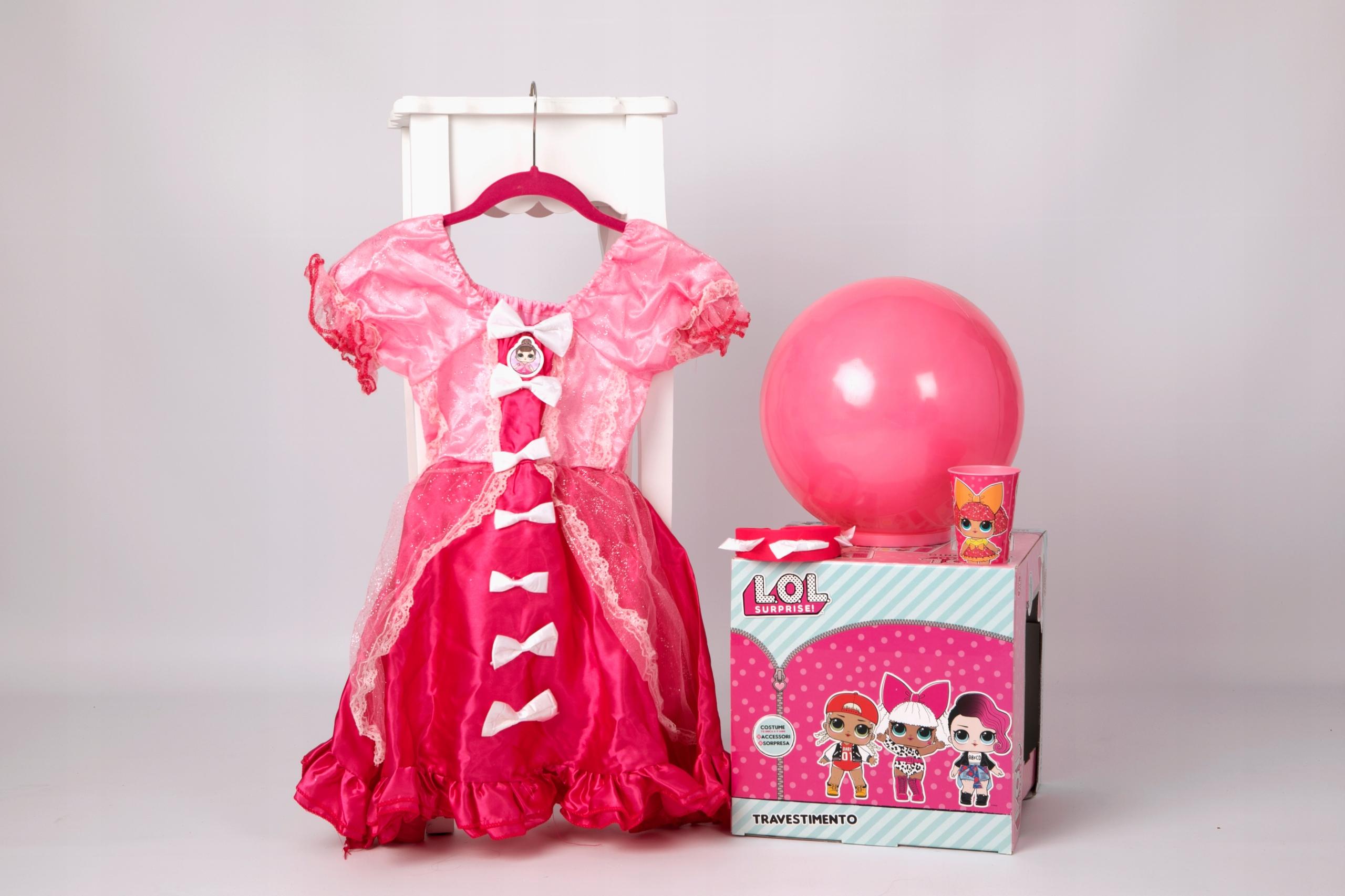 Lol Suprise outfit Efektný LOL 6-9 ročný super kostým