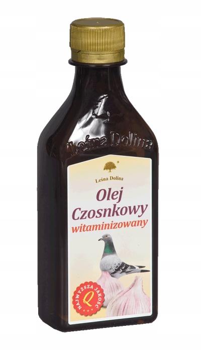 Чесночное масло витаминов. для голубей Лесная долина