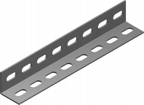 Уголок перфорированный 35х35х1,5 2м, оцинкованный