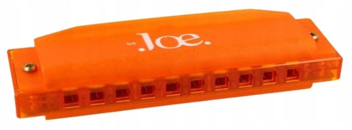 Byť joe harmonika orálny oranžový tonacja c