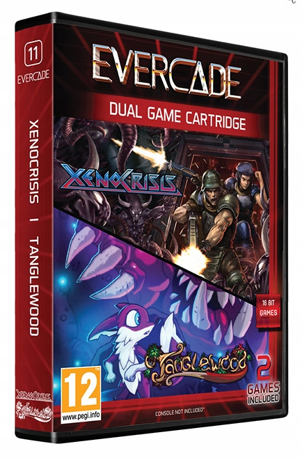 Herný balíček Evercade # 11 Xeno Crisis / Tanglewood