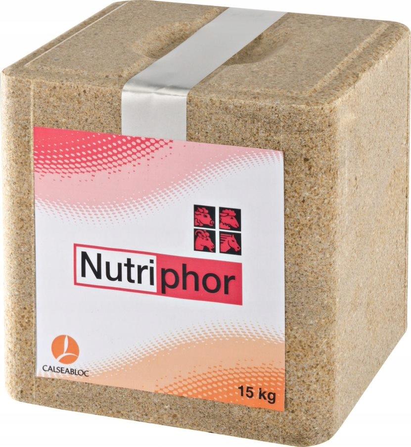 Lizawka Mineralna NUTRIPHOR dla zwierząt 15 kg