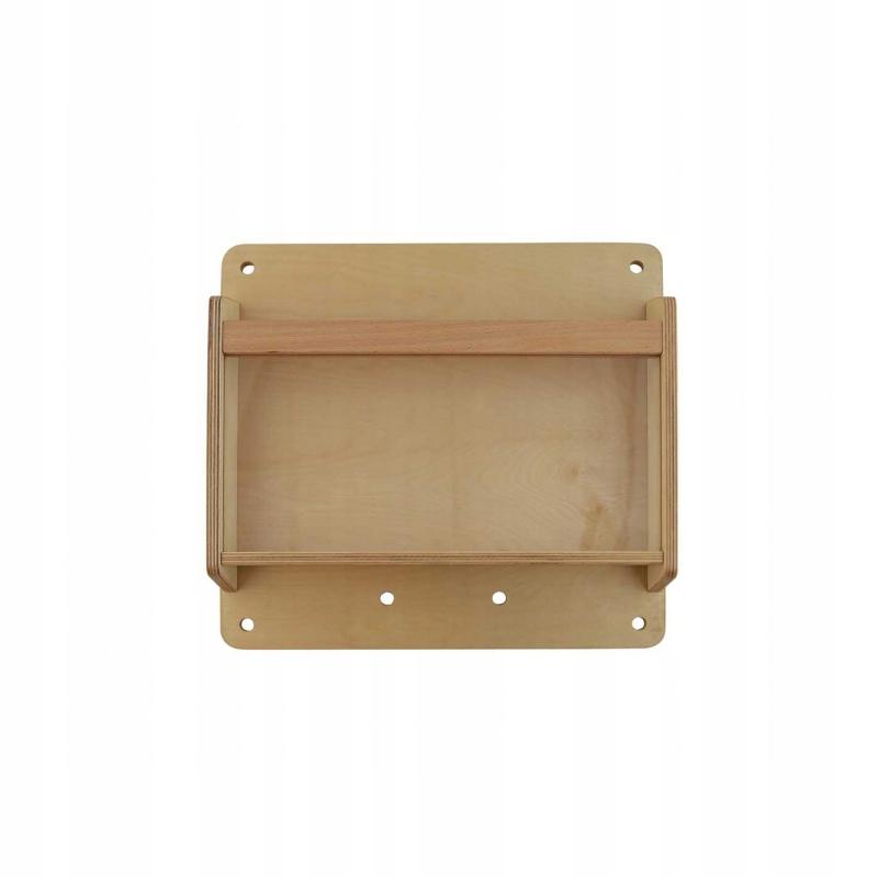 Drevená skrinka na predmety 40 cm - plaketa