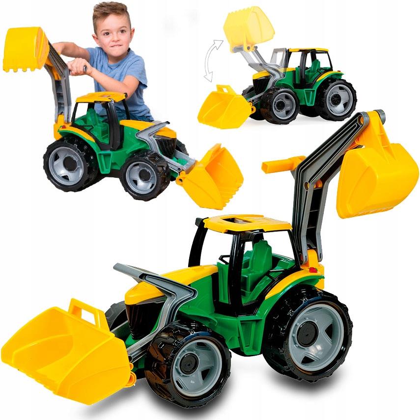 Koparka z łyżką, Traktor, Spych Ruchoma LENA GIANT