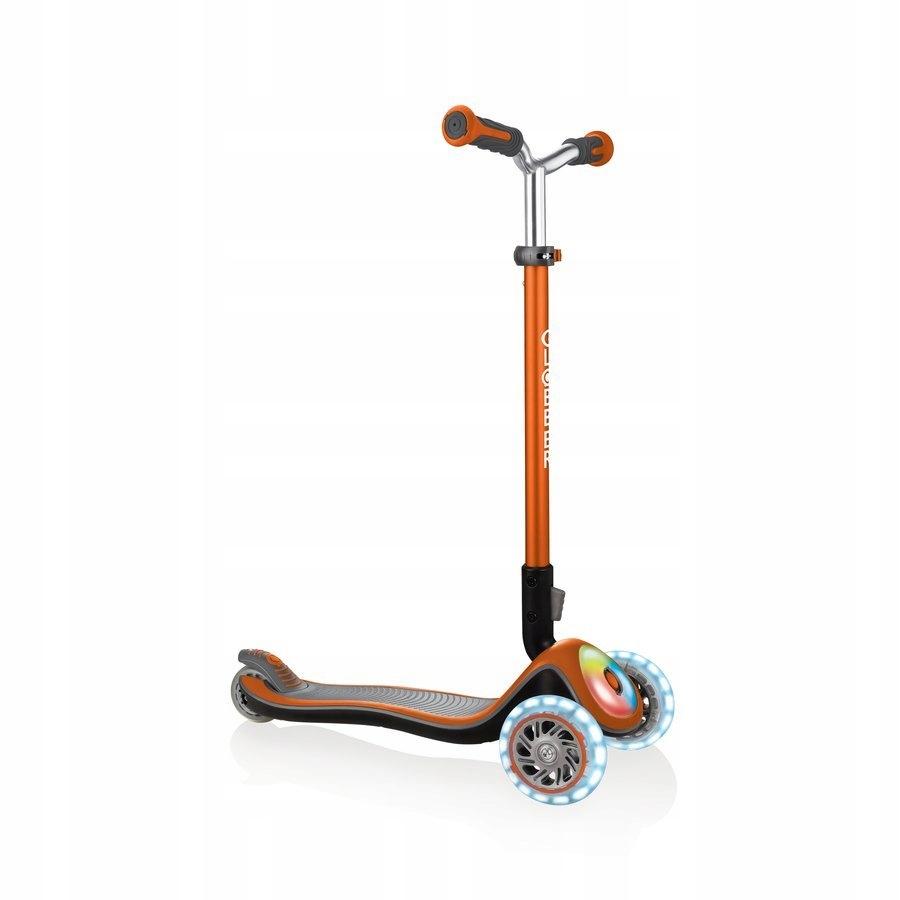 Hulajnoga 3-kołowa Globber Elite Prime Pomarańcz
